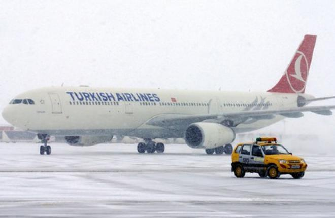 Авиакомпания Turkish Airlines начала летать во Внуково