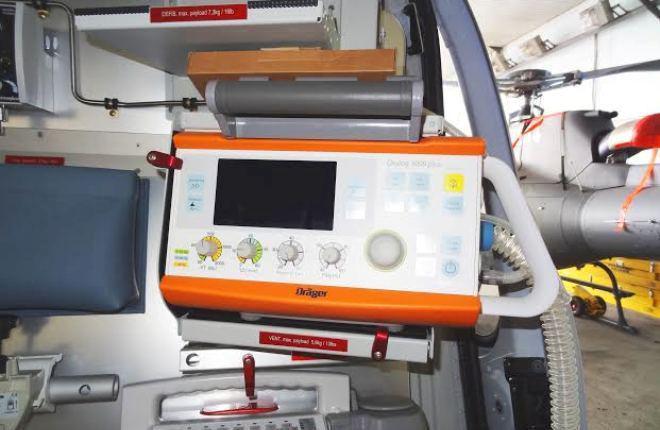 На приморские вертолеты H125 установили австрийские медицинские модули