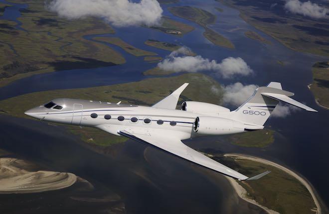 самолет G500