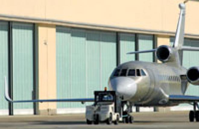 Тест-полет Dassault Falcon 900LX