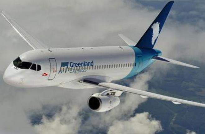 Авикомпания Greenland Express задумалась о покупке SSJ 100