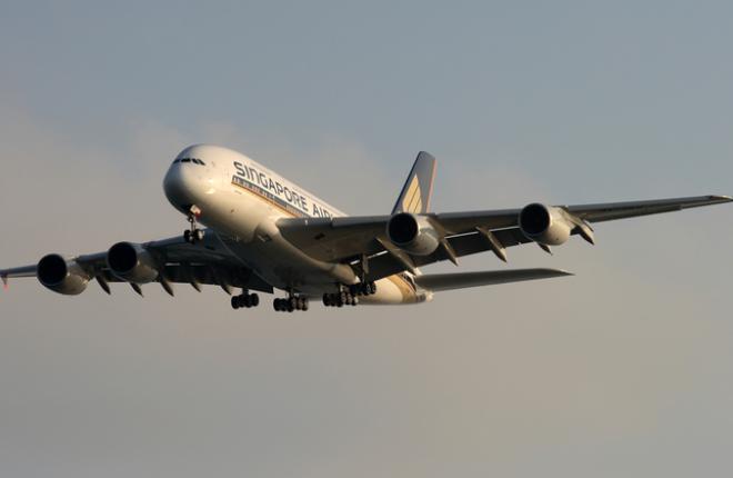 Airbus A380-800 авиакомпании Singapore Airlines