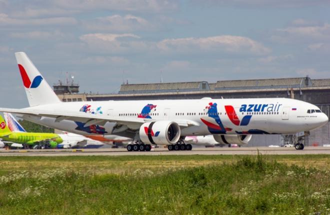 Azur Air Boeing 777 VQ-BZY