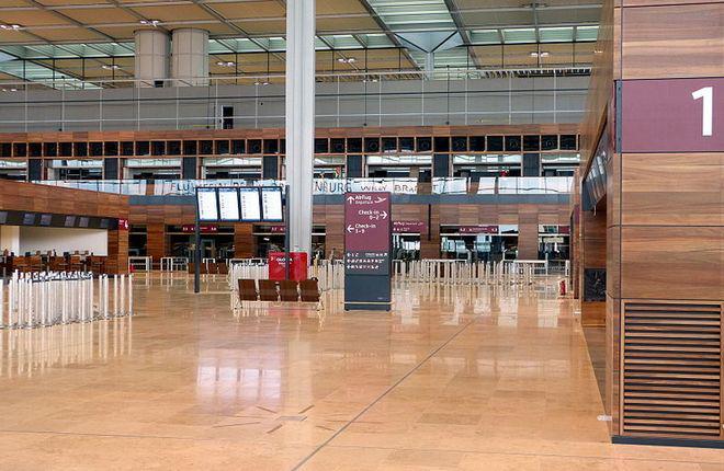 Аэропорт Берлин-Бранденбург готов на 80%