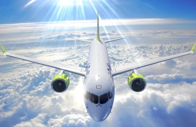 Bombardier CS300 авиакомпании airBaltic