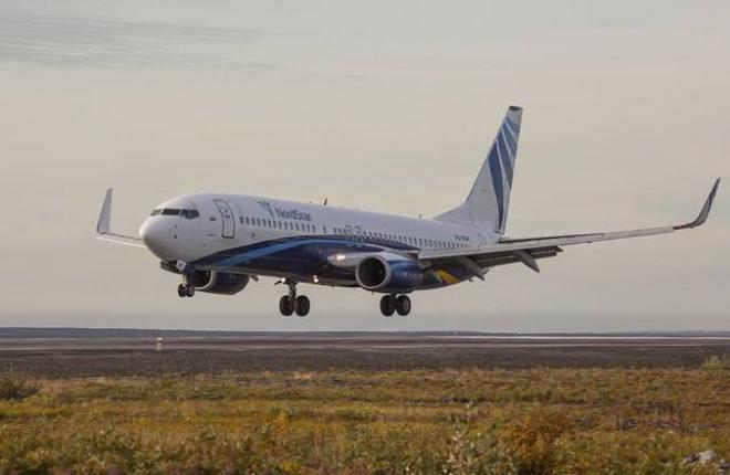 Boeing 737 авиакомпании NordStar
