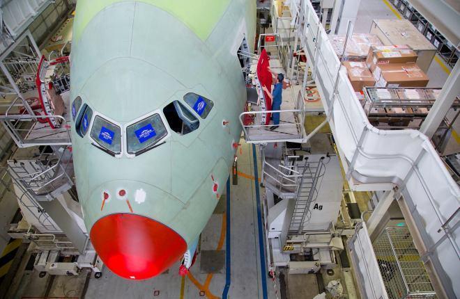 Сборка А380