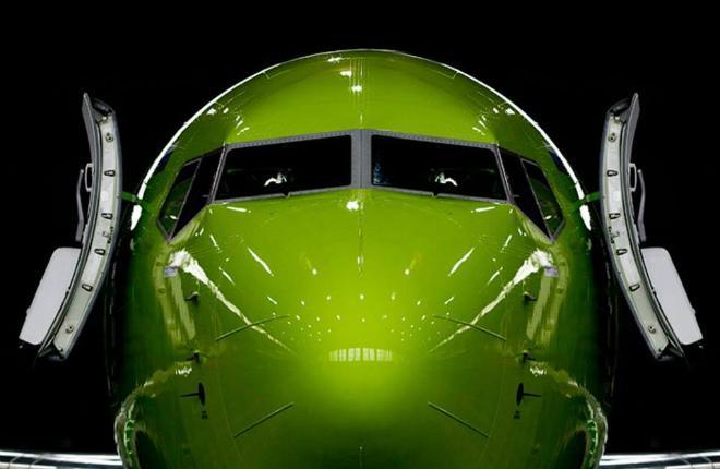 """Самолет B-737-800 авиакомпании """"Глобус"""""""
