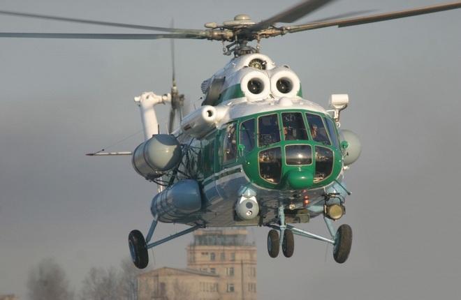 Вертолет Ми-172 оснастили спутниковой связью