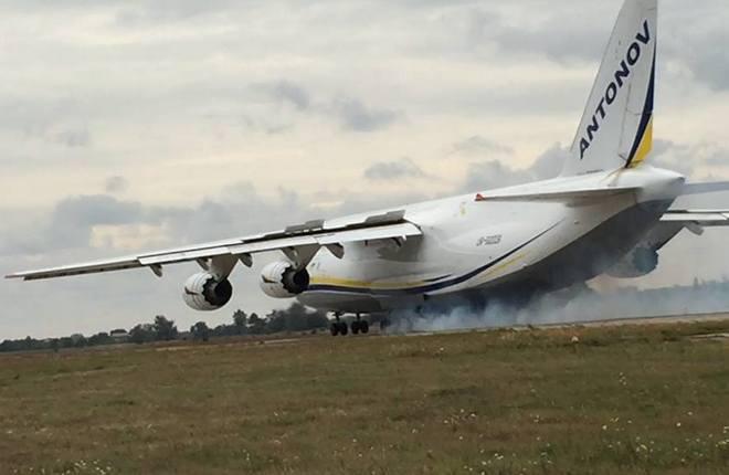 "Самолет Ан-124 авиакомпании ""Авиалинии Антонова"""