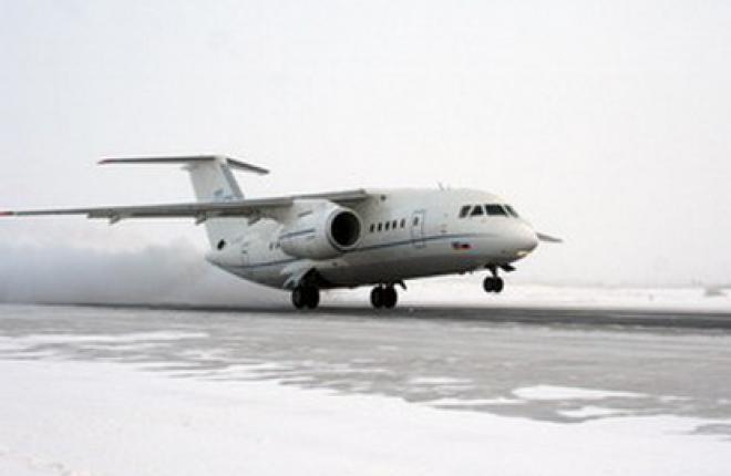 Три Ан-148 трех украинских авиакомпаний за три года перевезли 160 тыс пас