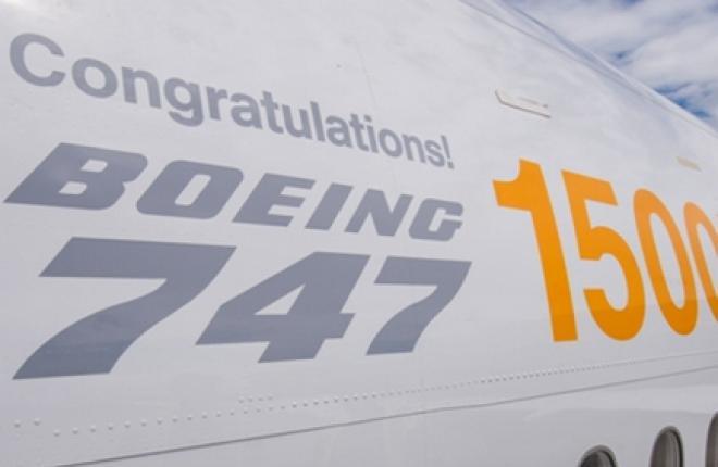 Boeing модернизирует самолеты 747 для роста продаж