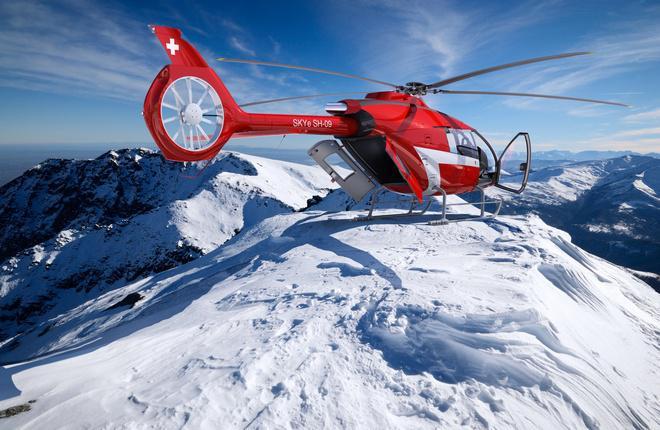 Прототип вертолета Marenco Swisshelicopter SKYe SH09