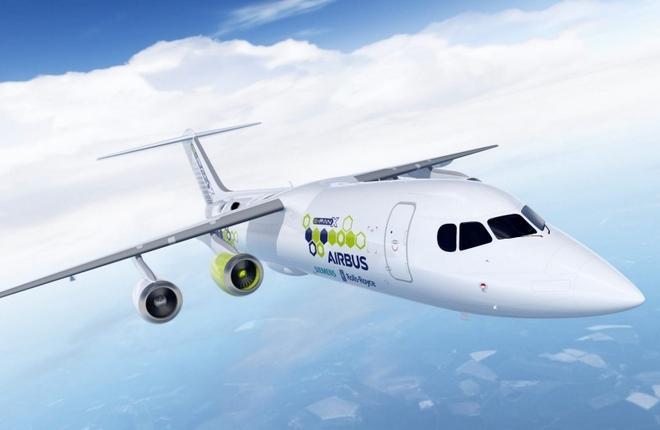 Airbus, Rolls-Royce и Siemens разработают гибридный самолет