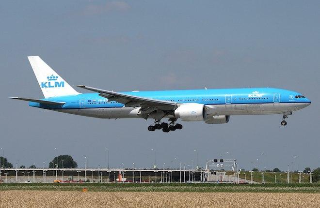 Самолет Boeing 777 авиакомпании KLM