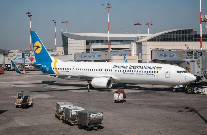 """Boeing 737-900ER авиакомпании """"Международные авиалинии Украины"""""""