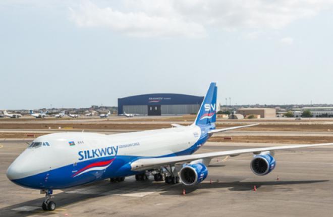Азербайджан закажет еще три самолета Boeing 747-8F для Silk Way Group