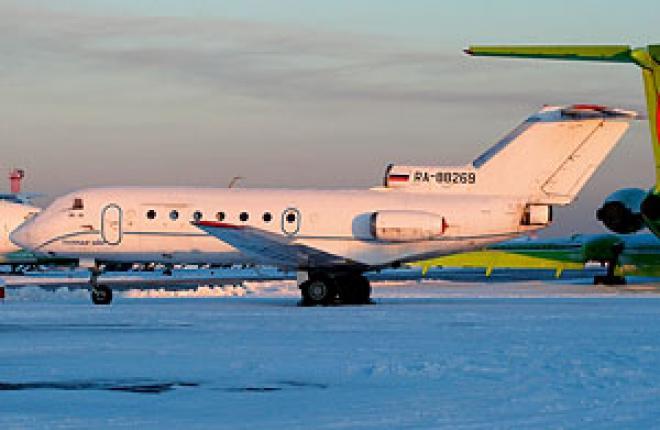 """Основу летного парка авиакомпании """"Тулпар Эйр"""" составляют самолеты Як-40"""