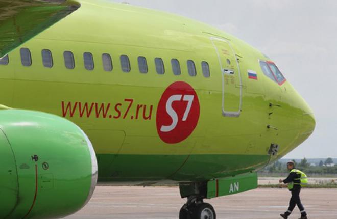 Филиал S7 Engineering в Минеральных Водах выполнил C-check самолета Boeing 737