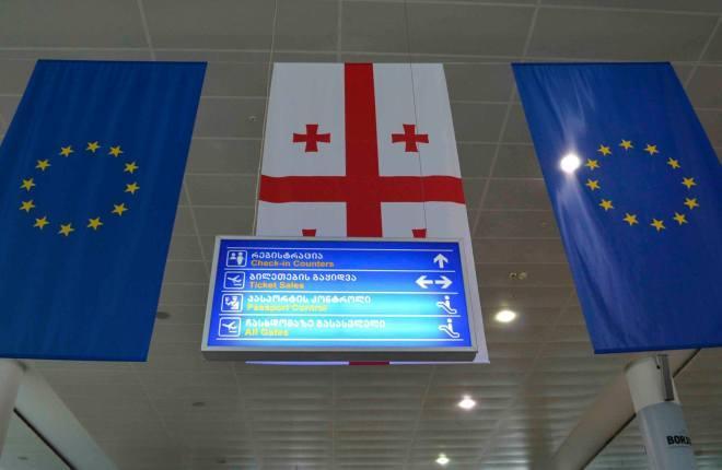 Авиасообщение между Россией и Грузией закрыто
