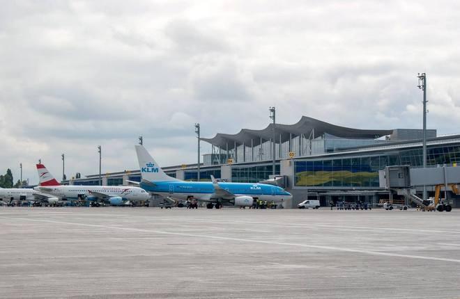 Украинские авиакомпании нарастили пассажиропоток