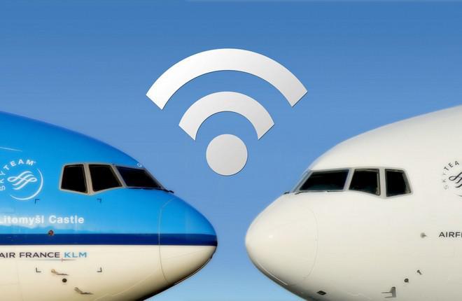Широкофюзеляжные самолеты Air France — KLM оснастят Wi-Fi
