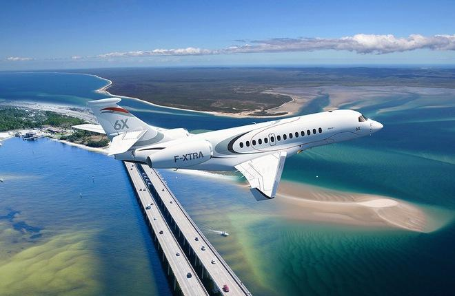 Dassault Aviation объявил о разработке бизнес-джета Falcon 6X