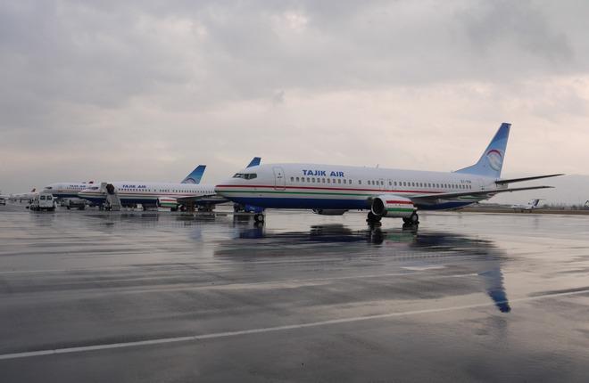 Флот авиакомпании Tajik Air