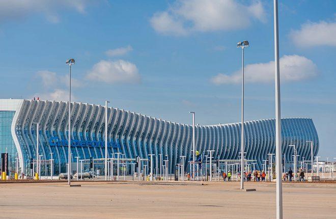 Новый терминал аэропорта Симферополь
