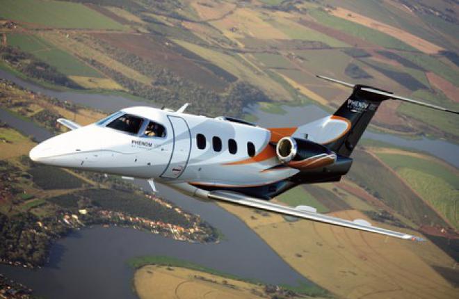 Бизнес-джет Embraer Phenom 100 впервые потерпел катастрофу