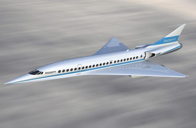 Cверхзвуковой самолет Boom Supersonic
