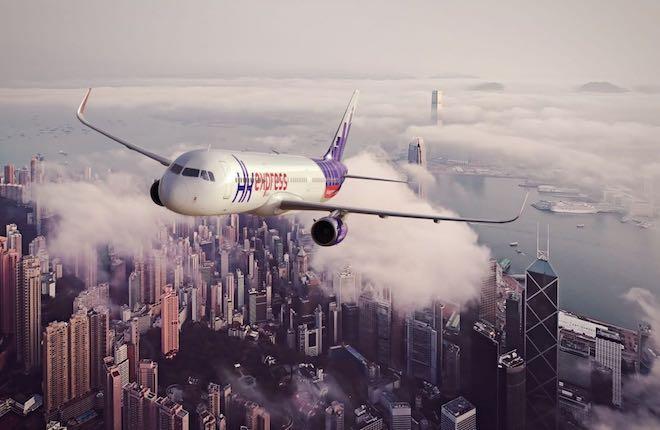 самолет HK Express