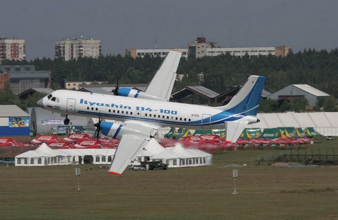 Окончательную сборку Ил-114 наладят в Луховицах