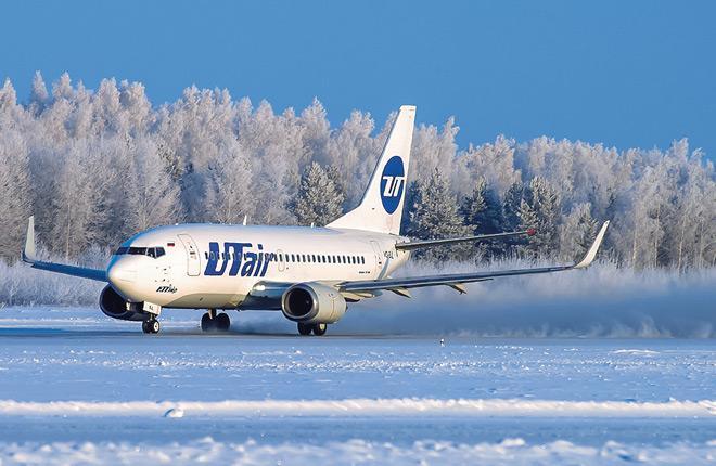 """Самолет Boeing 737 авиакомпании """"ЮТэйр"""""""