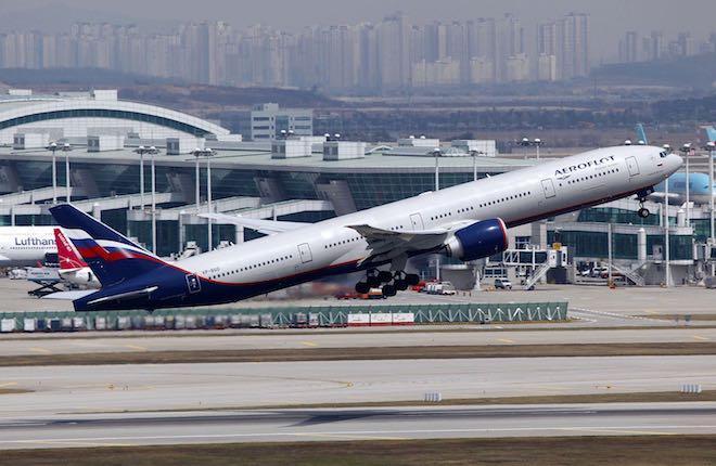 """самолет Boeing 777-300ER авиакомпании """"Аэрофлот"""""""