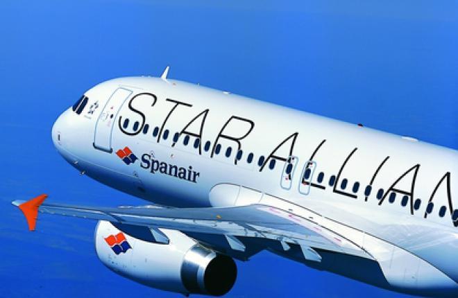 Spanair начнет выполнять регулярные рейсы между Барселоной и Москвой