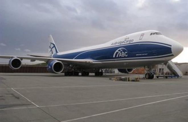 Авиакомпания AirBridge Cargo получила первый Boeing 747-8