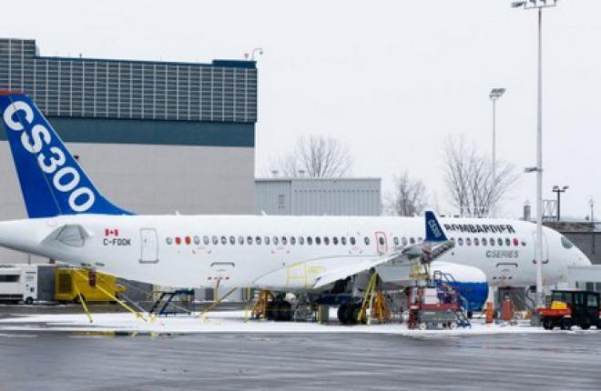 Bombardier приступил к испытаниям первого прототипа CS300
