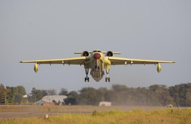 Первый Бе-200ЧС таганрогской сборки поднялся в небо