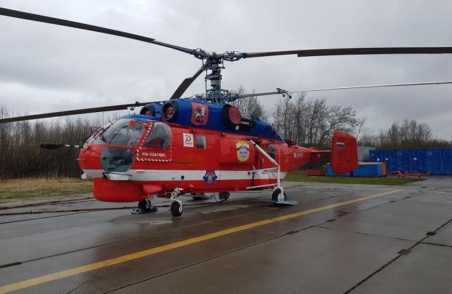 Вертолет Ка-32 МАЦ