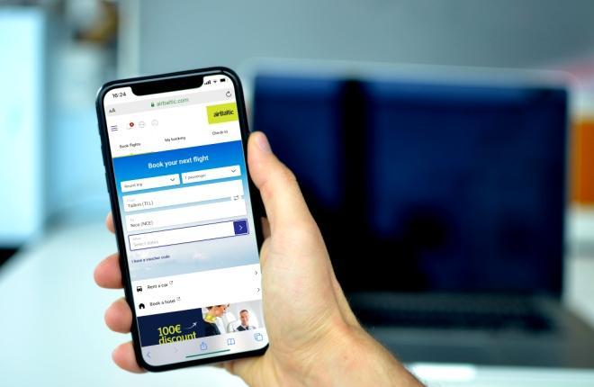 Мобильное приложение airBaltic