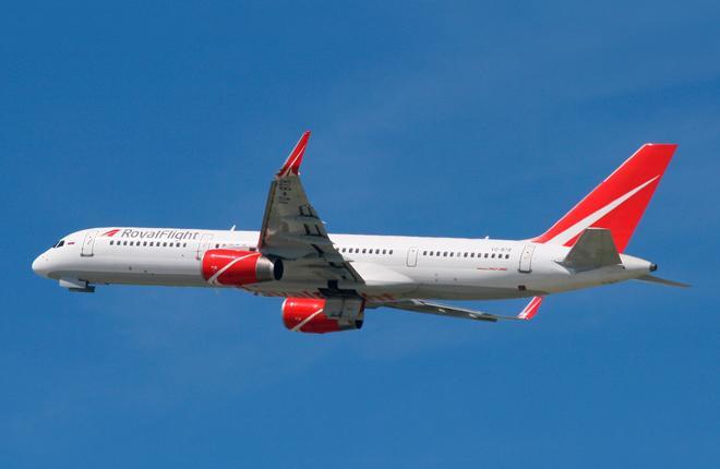 Парк авиакомпании Royal Flight пополнился шестым Boeing 757