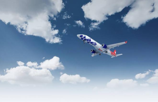 Для азербайджанского лоукостера Buta Airways подготовили новый E190
