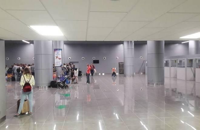 Новый терминал одесского аэропорта открыли для международных рейсов
