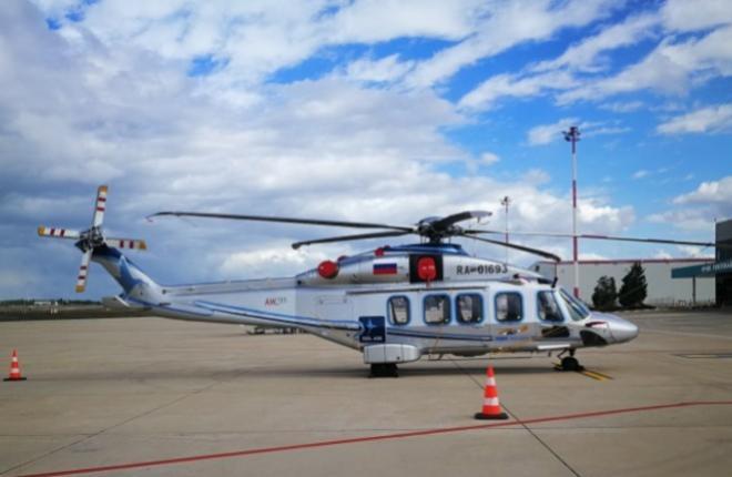 """AW189 вертолетного оператора НПК """"ПАНХ"""""""