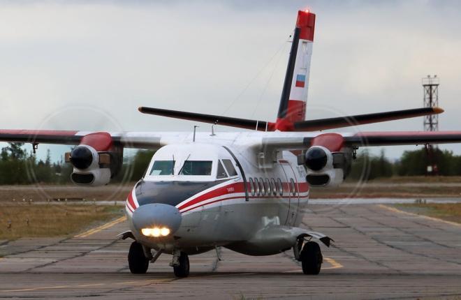 L-410 2-го Архангельского объединенного авиаотряда