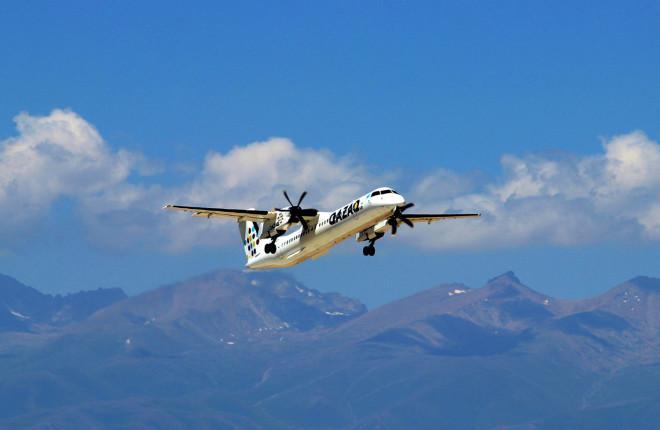 Bombardier Q400NG авиакомпании Qazaq Air