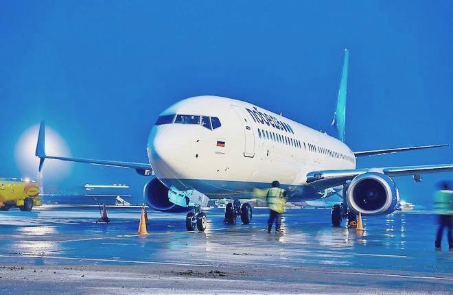 "Boeing 737-800 авиакомпании ""Победа"""