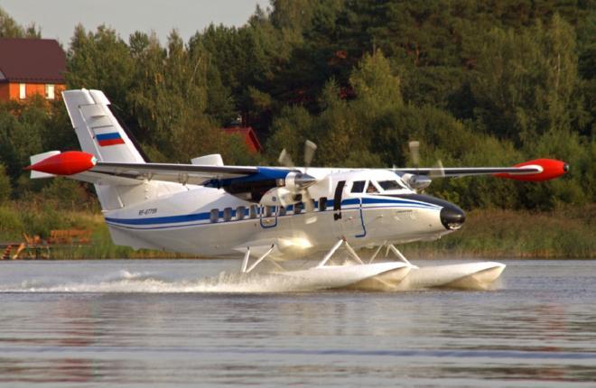 Самолет L-410UVP-E20 на поплавках приступил к испытаниям