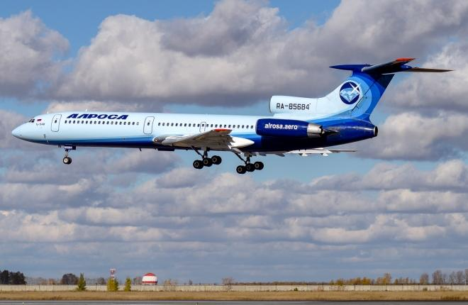 """Ту-154 """"Алсросы"""""""